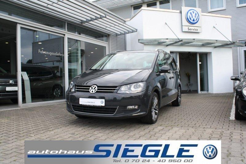 Volkswagen Sharan 1.4 TSI Cup*Navi*Xenon*Panorama-SD*18 Zoll*Parklenkass. Aktionspreis !!!, Jahr 2014, Benzin