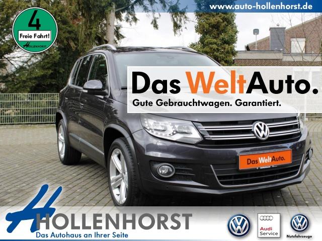 Volkswagen Tiguan 1.4 l TSI BMT LOUNGE NAVI SSD PLA Bluetooth, Jahr 2016, Benzin