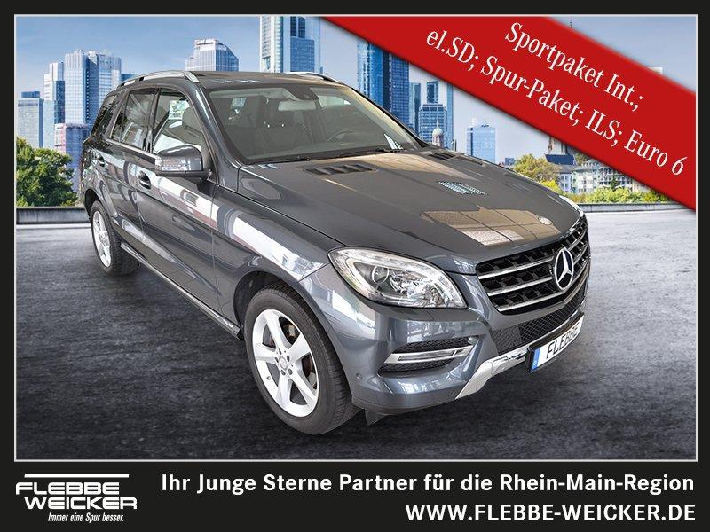 Mercedes-Benz ML 250 BlueTEC 4M Sport-& Spur-Paket/el.SD Euro6, Jahr 2014, Diesel