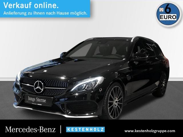 Mercedes-Benz C 450 AMG T 4M Pano COMAND ILS LED Kamera PTS Temp, Jahr 2016, Benzin