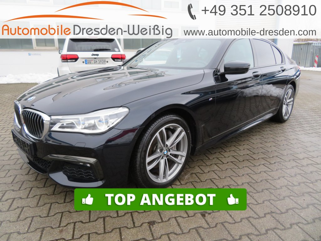 BMW 730 d xDrive M Sport Design Pure*HeadUp*Massage*, Jahr 2019, Diesel
