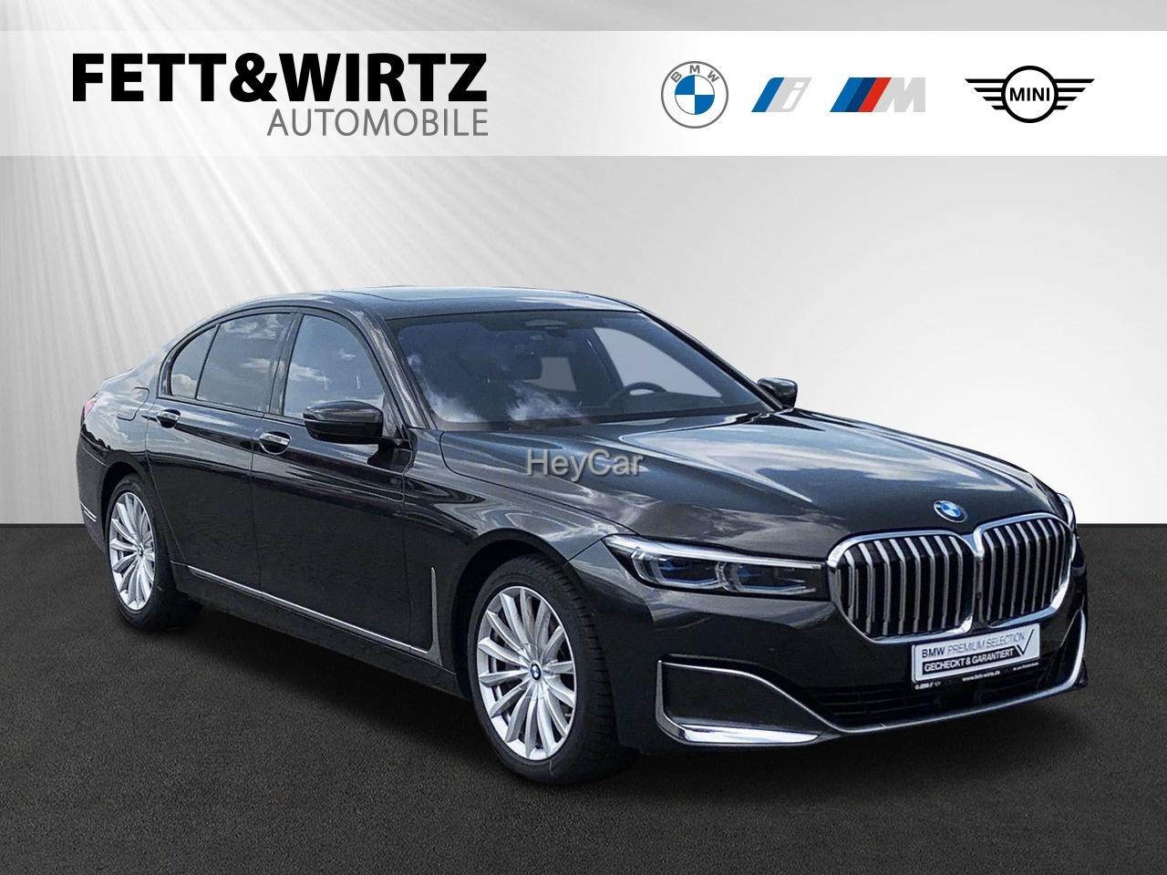BMW 750i xDrive HUD Standhzg. Sitzlüft.+Massage GSD, Jahr 2020, Benzin