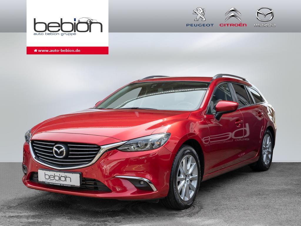 Mazda 6 Kombi SKYACTIV-D 150 i-ELOOP Exclusive-Line Na, Jahr 2016, Diesel
