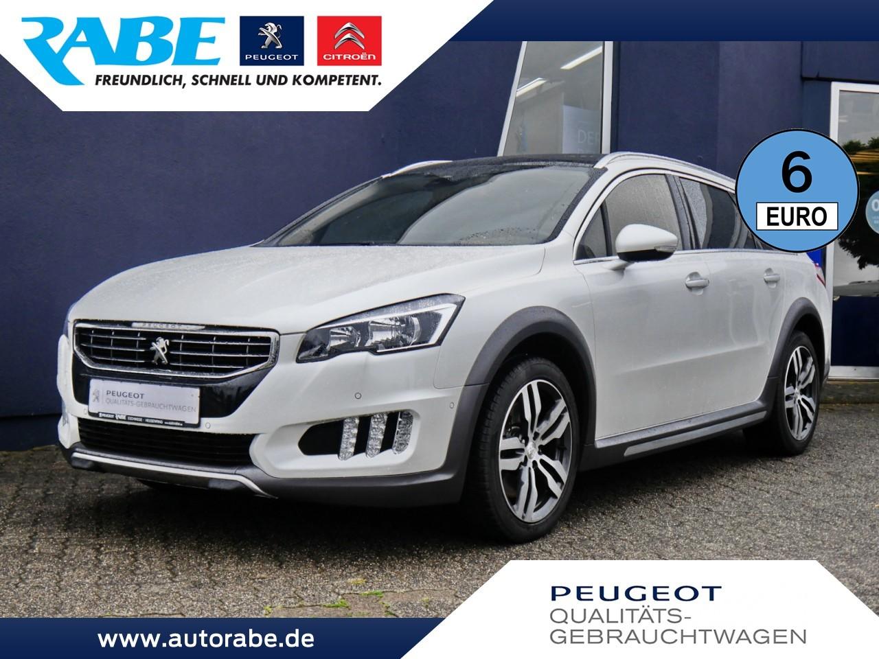 Peugeot 508 SW RXH 180 BlueHDi Pano+NAV+E-Heckkl+E-Sitze, Jahr 2016, Diesel