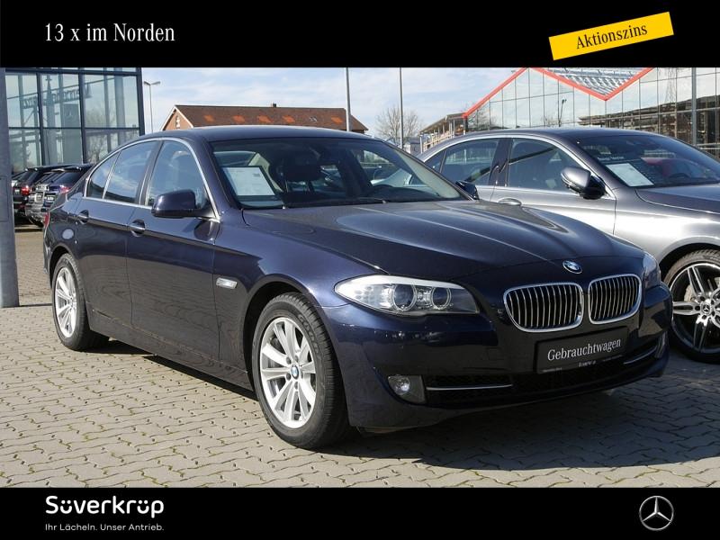 BMW 520 i Navi Bi-Xenon PDC Schiebe-Hebe-Dach SHZ, Jahr 2013, Benzin