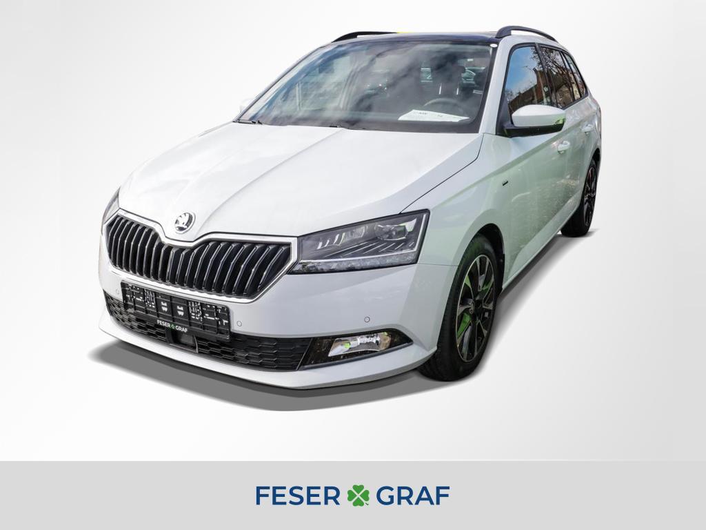 Skoda Fabia BEST OF DRIVE 125 1.0TSI *Navi,Pano,LED*, Jahr 2020, Benzin