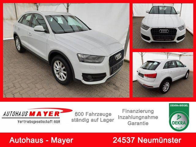 Audi Q3 2.0 TDI eAC, Sound, AHK, PDC, Sitzheizung, Jahr 2013, Diesel
