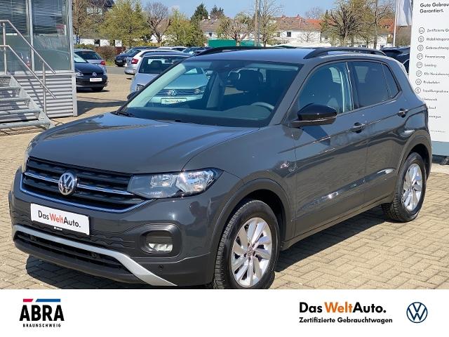 Volkswagen T-Cross 1.0 TSI Life NAV SIDE LANE PDC DAB+ BLUE, Jahr 2020, Benzin