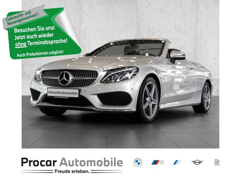 Mercedes-Benz C 250 9G-Tronic AMG Line SPORTPAKET+NAVI+LED, Jahr 2018, Benzin