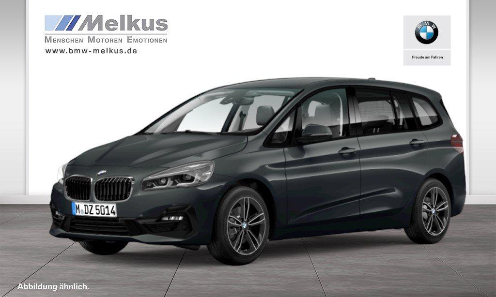BMW 218 Gran Tourer d xDrive Sport Line HiFi DAB LED, Jahr 2018, Diesel