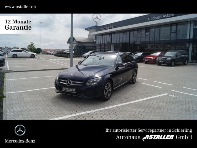 Mercedes-Benz C 200 T BT Avantgarde+Leder+Sportsitze+Navi+Pano, Jahr 2014, Diesel
