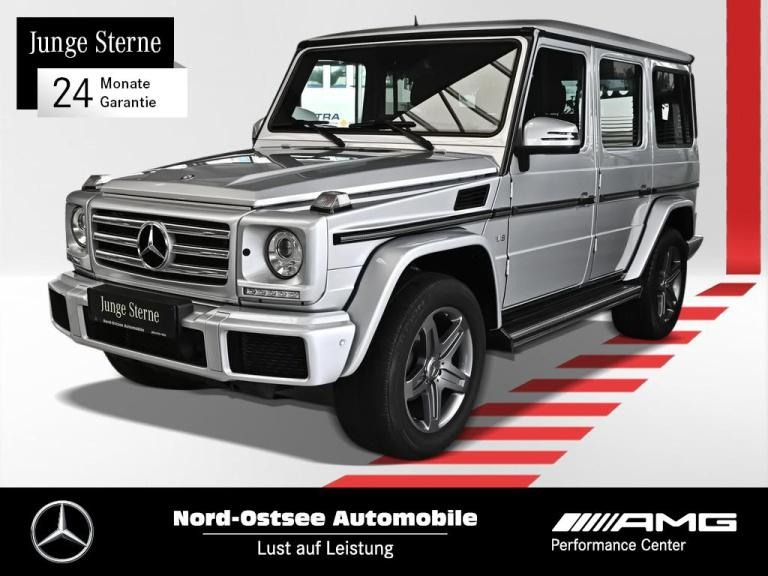 Mercedes-Benz G 500 lang Exclusiv Comand AHK Harman Distronic, Jahr 2017, Benzin