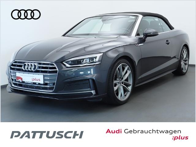 Audi A5 Cabriolet 2.0 TFSI S-Line LED AHZV B&O Kamera, Jahr 2019, Benzin