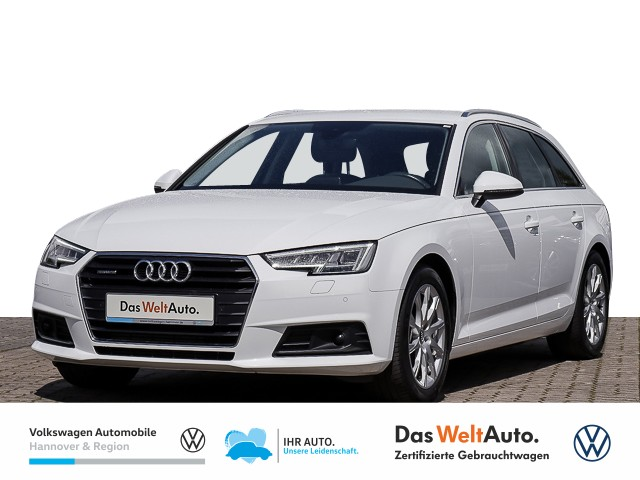 Audi A4 Avant 2.0 TFSI S-tronic quattro Navi AHK Klima Einparkhilfe, Jahr 2016, Benzin