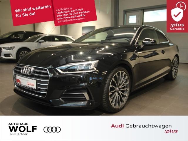 Audi A5 Coupe 2.0 TDI S-tronic sport LED AHK Alcantara, Jahr 2018, Diesel
