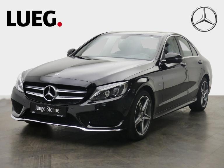 Mercedes-Benz C 350 e AMG+Navi+LED-HP+Airmatic+SHZ+Lordose+RFK, Jahr 2018, Hybrid