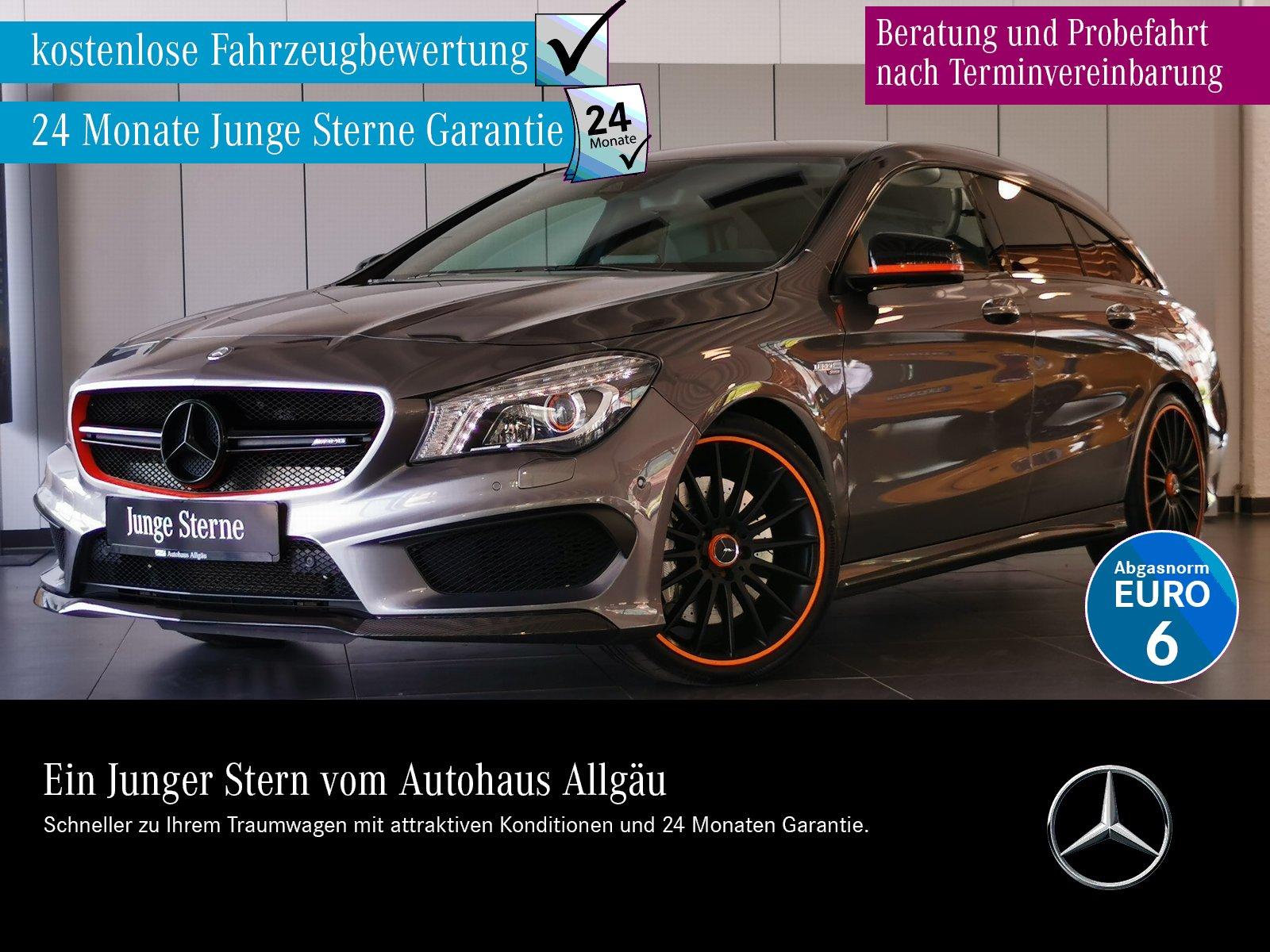 Mercedes-Benz CLA 45 AMG 4M SB ILS+DAB+NAVI+KAMERA+PERF.SITZE+, Jahr 2015, Benzin