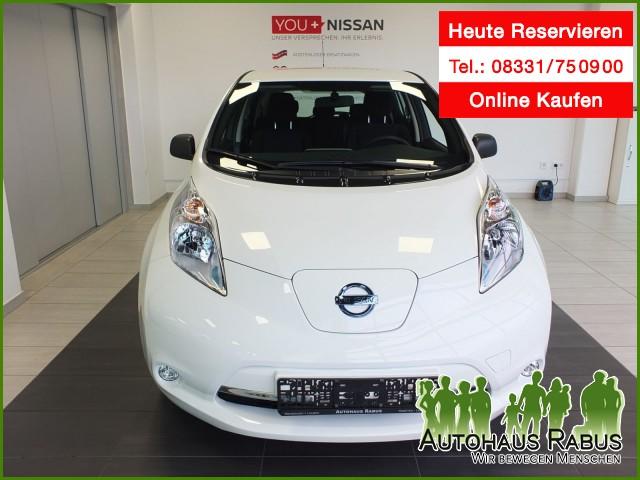Nissan Leaf Visia 24KW, ESP, inkl Bat., ABS, CD-Spieler, Jahr 2016, Elektro