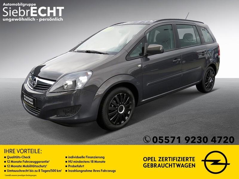 Opel Zafira 1.8 Family*CD 30 MP3*Klima*Tempomat*, Jahr 2014, Benzin