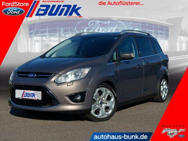 Ford Grand C-Max Titanium 1,6 Ecob. Xenon, Jahr 2014, Benzin