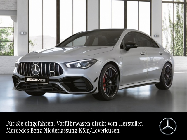 Mercedes-Benz CLA 45 S 4MATIC Coupé Sportpaket Bluetooth Navi, Jahr 2021, Benzin
