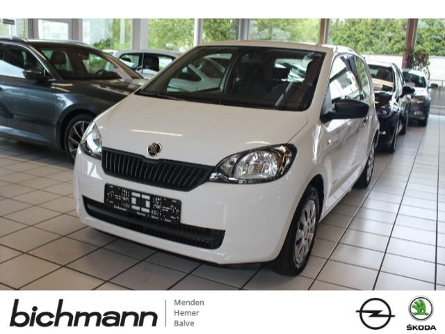 Skoda Citigo Cool Edition CD Klima ZVmFB, Jahr 2016, petrol