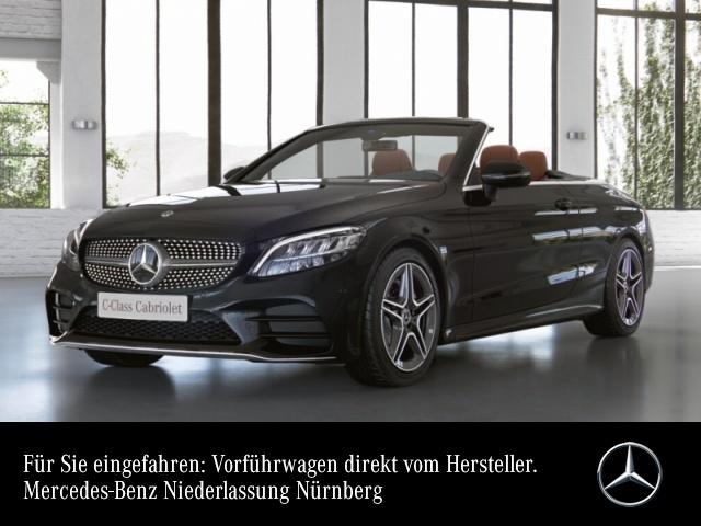 Mercedes-Benz C 200 Cabrio AMG+LED+Kamera+Keyless+9G, Jahr 2021, Benzin