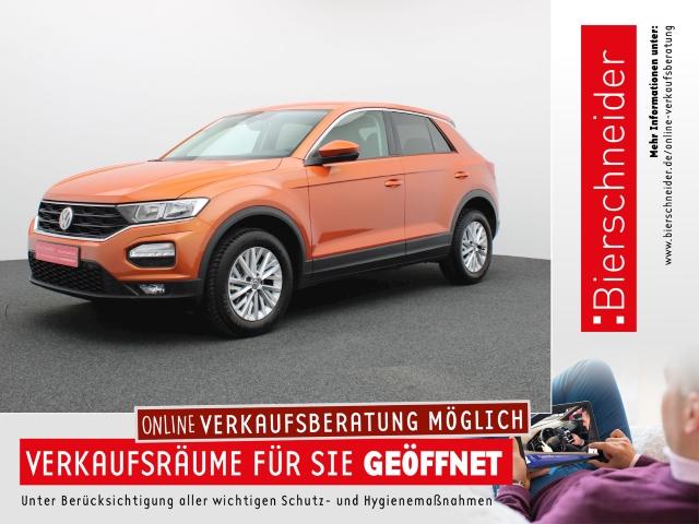 Volkswagen T-Roc 1.0 TSI NAVI CLIMATRONIC SH LICHT&SICHT 5-J-GARANTIE, Jahr 2019, Benzin