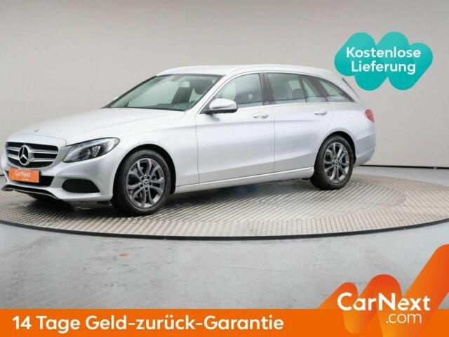 Mercedes-Benz C 220 d T 9G-T Avantgarde AHK Navi, Jahr 2017, Diesel