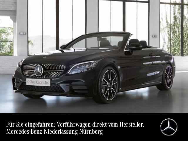 """Mercedes-Benz C 200 Cabrio AMG+Night+LED+Kamera+19""""+Keyless+9G, Jahr 2021, petrol"""