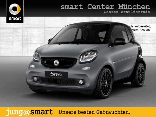 smart fortwo coupé 60kWed prime Sport SHZ LED Kamera, Jahr 2017, Elektro