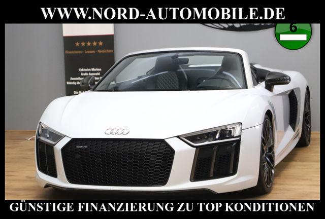 Audi R8 Spyder 5.2 FSI S-Tronic*Sound-AbGas*Garantie, Jahr 2017, Benzin