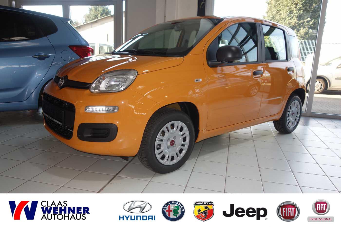 Fiat Panda Serie 2 1.2 Easy *Klimaanlage, Jahr 2019, petrol