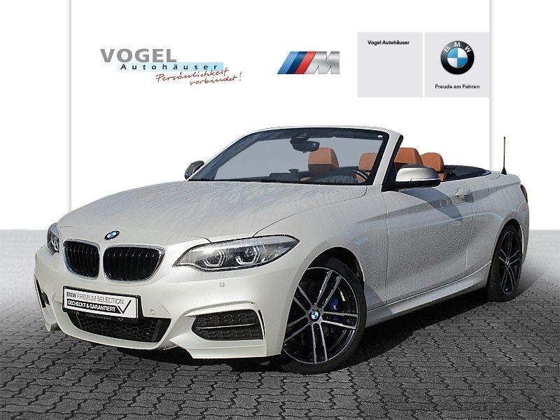 BMW M240i Cabrio Euro 6 Navi Prof PDC Klima Sitzheizung LED Speed Limit Info Lichtpaket, Jahr 2018, Benzin
