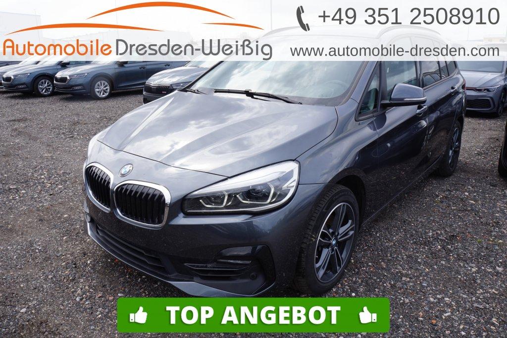 BMW 216 Gran Tourer i Sport Line*Navi*UPE 40.560€, Jahr 2019, Benzin