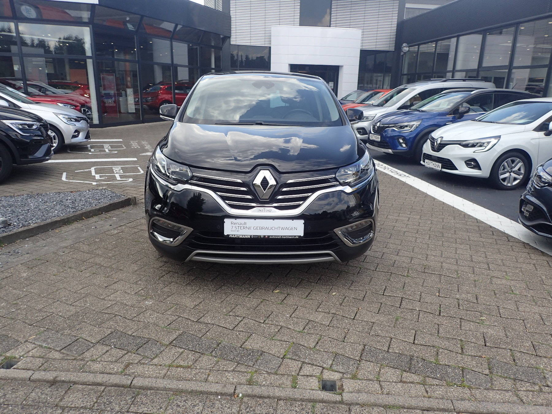 Renault Espace Initiale Paris ENERGY dCi 160 Nappa-Leder, Jahr 2016, Diesel