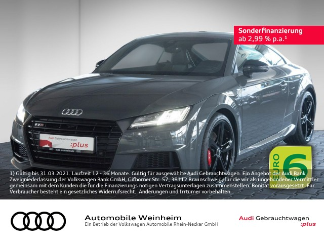 Audi TTS Coupe 2.0 TFSI qu Virtual Cockpit Navi Rückfahrkamera uvm, Jahr 2017, Benzin