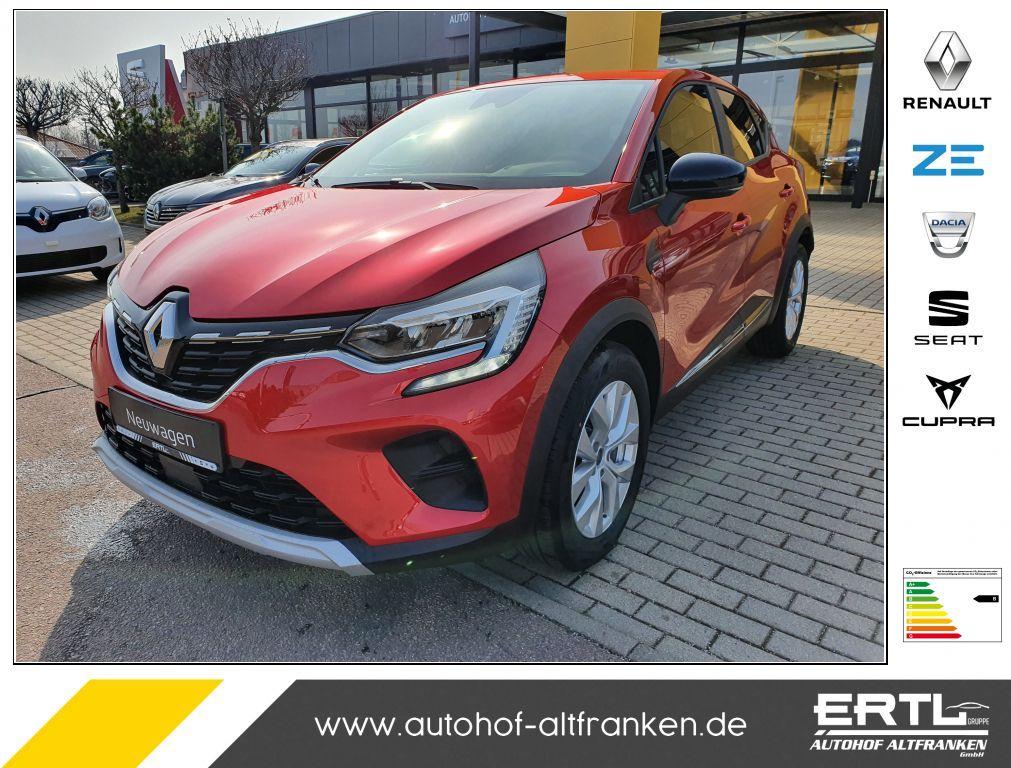 Renault Captur TCe 90 EXPERIENCE, Jahr 2021, Benzin