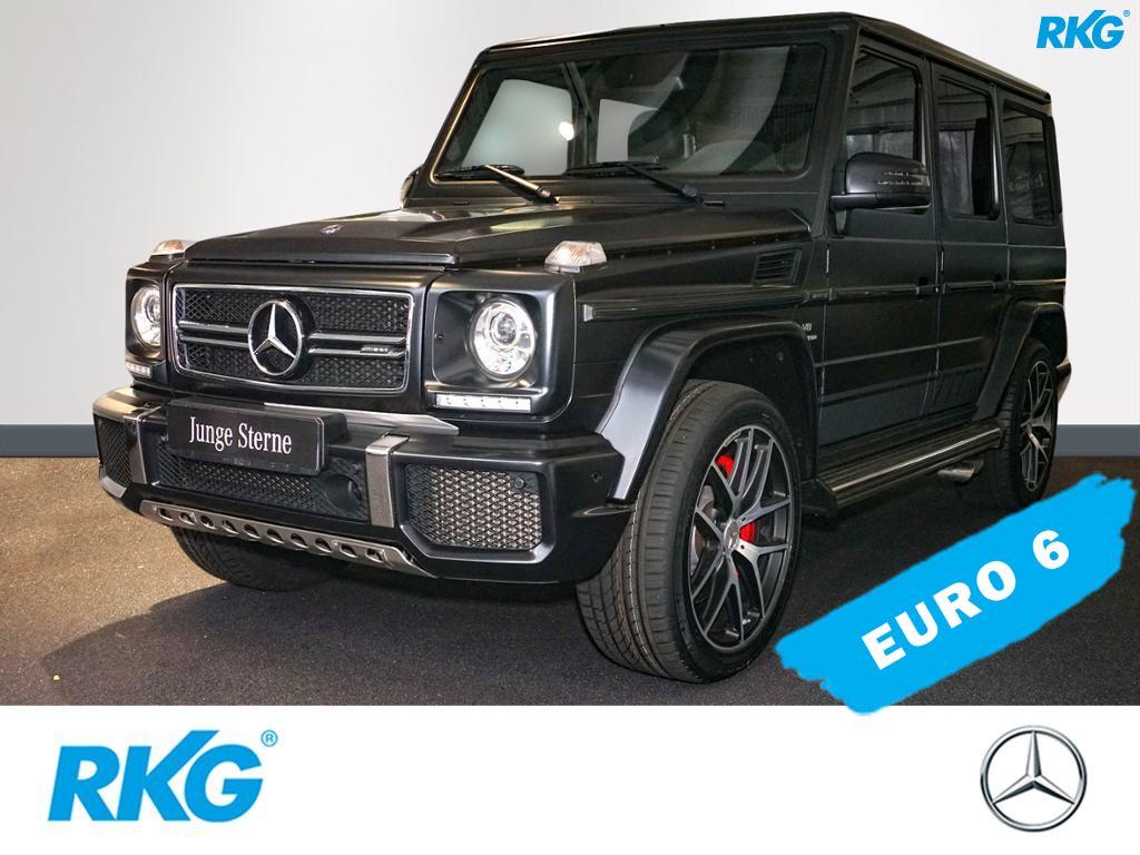 Mercedes-Benz G 63 AMG Drivers Package*Comand*Harman*Standhz*, Jahr 2017, petrol