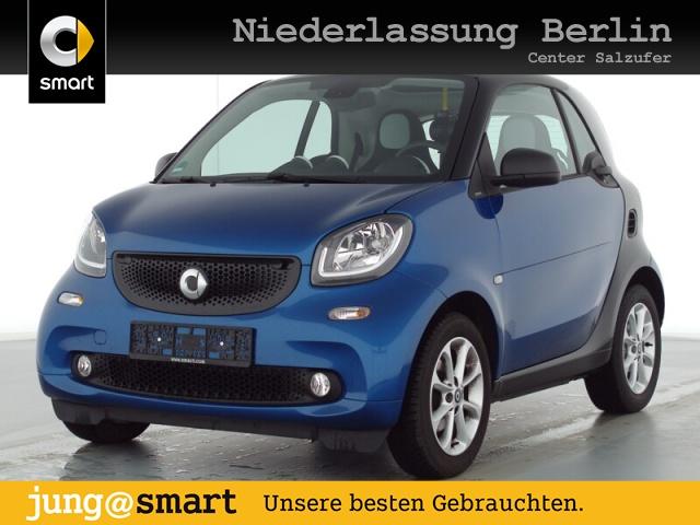 smart fortwo coupé 52kW passion cool&Media SHZ Pano LED, Jahr 2019, Benzin