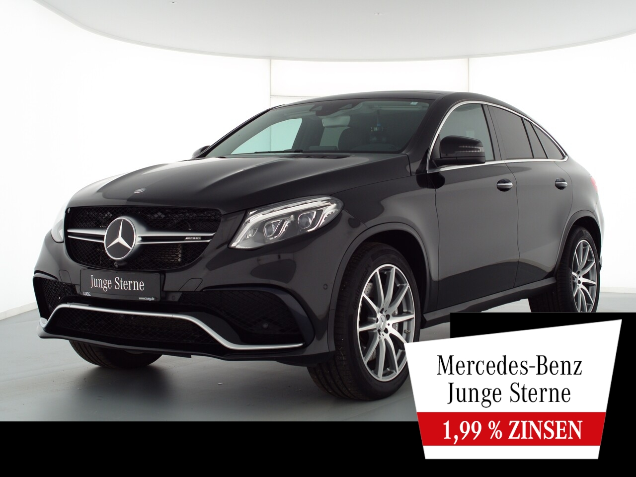 Mercedes-Benz GLE 63 AMG 4M Coupe COM+Pano+LED+Sthzg+DistrP+AH, Jahr 2015, Benzin
