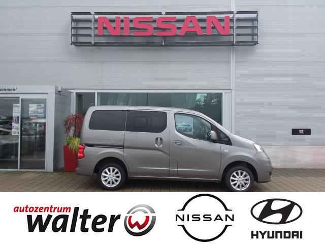 Nissan NV200 /Evalia Tekna 1.6l, Rückfahrkamera, Tempomat, Regensensor, Jahr 2017, Benzin