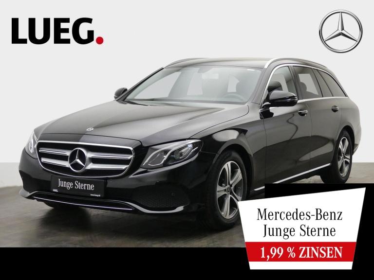 Mercedes-Benz E 300 d T Avantgarde+Navi+LED-HP+Sthzg+CarPl+RFK, Jahr 2018, Diesel