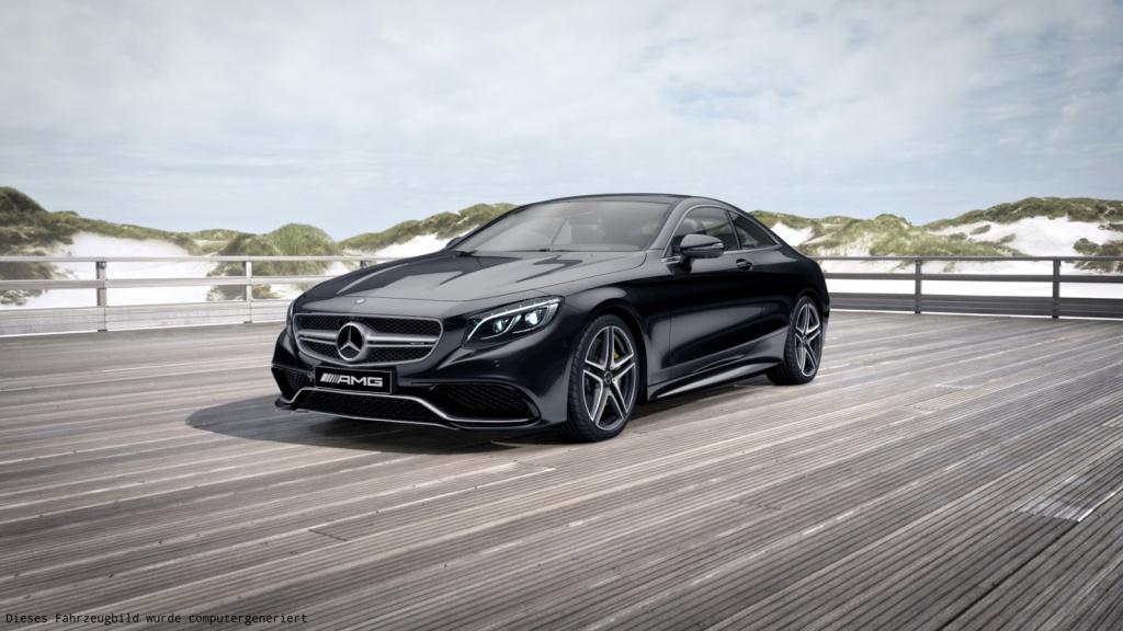 Mercedes-Benz S 63 AMG 4MATIC Coupé Sitzklima/Drivers P., Jahr 2017, Benzin
