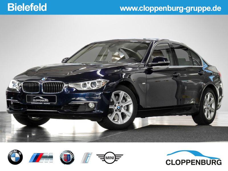 BMW 335i xDrive Luxury Line HUD NAVI HK GSD KEYLESS, Jahr 2013, petrol
