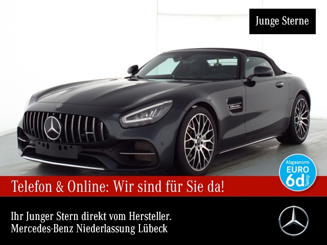 Mercedes-Benz AMG GT Sportpaket Navi LED Vollleder Klima, Jahr 2020, Benzin