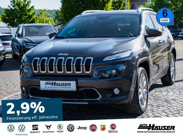 Jeep Cherokee Limited 2.2 MultiJet 4x4 AT9 STANDHZG., Jahr 2015, Diesel