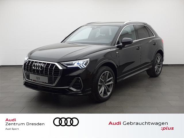 Audi Q3 S line 45 TFSI e S tronic, Jahr 2021, Hybrid