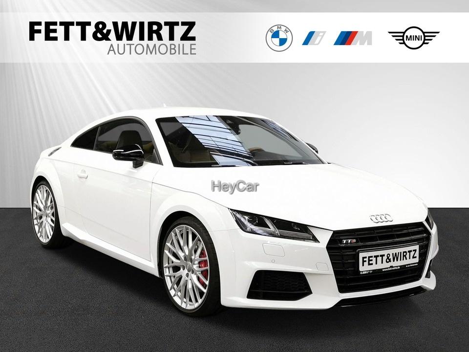 Audi TTS Coupe 2.0 TFSI quattro DKG Matrix B&O 20''LM, Jahr 2016, Benzin