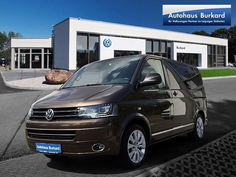 Volkswagen Multivan Highline, 4MOTION, DSG, AHZV, Navi, Spurwechselassistent, Jahr 2015, Diesel